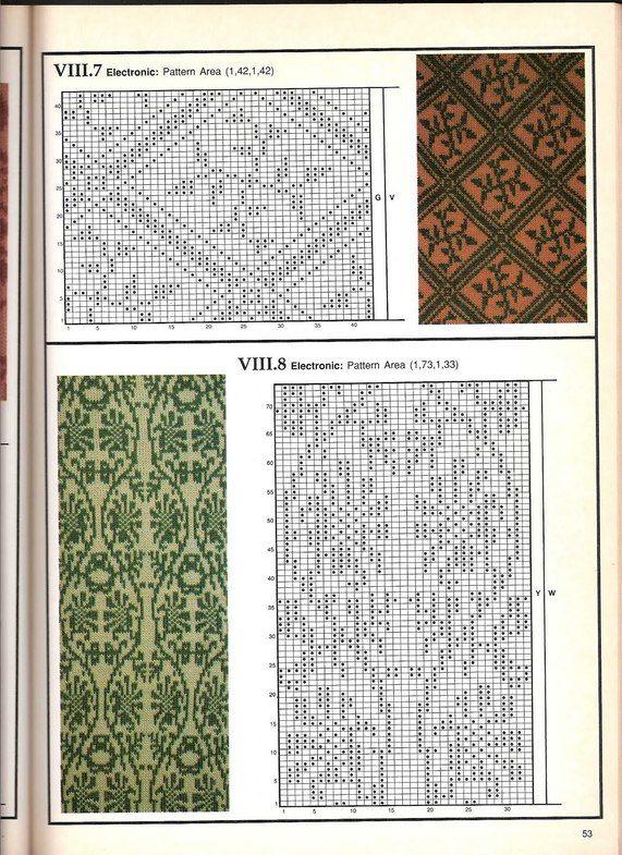 Машинное вязание - жаккард Машинное вязание - жаккард #52