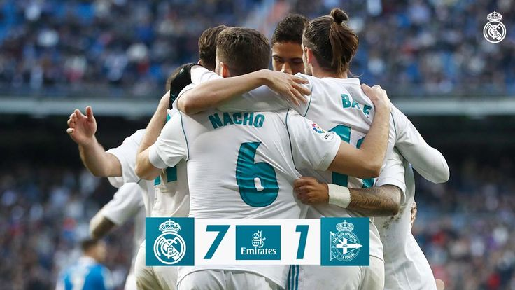 Real Madrid 7-1 Deportivo #realmadrid #football