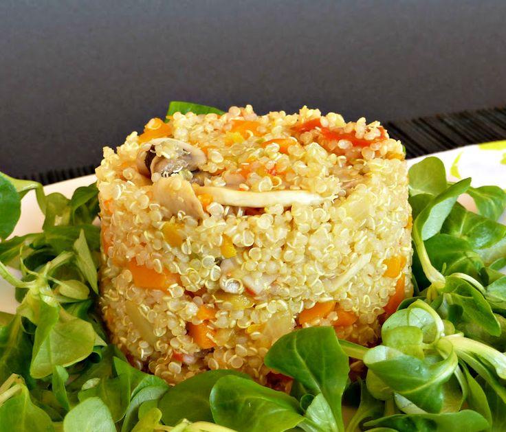 M s de 1000 ideas sobre quinoa con verduras en pinterest ensalada de quinoa cebu y receta de - Cocinar quinoa con verduras ...