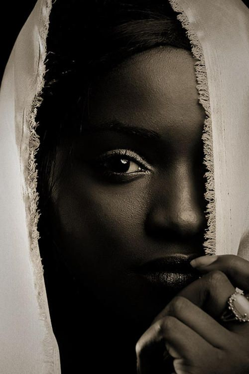 Dark skinned women are beautiful nubian queens