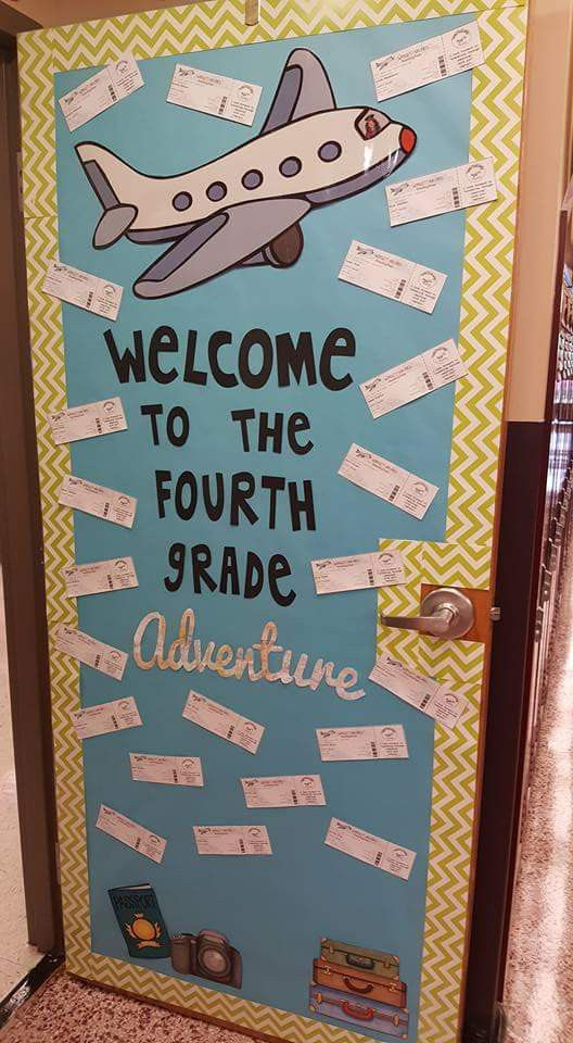 Classroom Door Decoration Ideas 4th Grade
