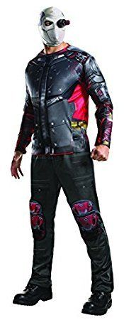 I love suicide squad halloween costumes as they are creepy, twisted and super wicked. My favorite is Harley quinn but I also love the joker, katana, deadshot and of course killer crock Halloween costumes. Evolution's Suicide Squad Deluxe Deadshot Costume for Men's XL