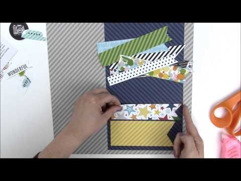 Scrapbook & Cards Today Blog: Jen Gallacher + Bella Blvd. = awesome Ask Jen video!