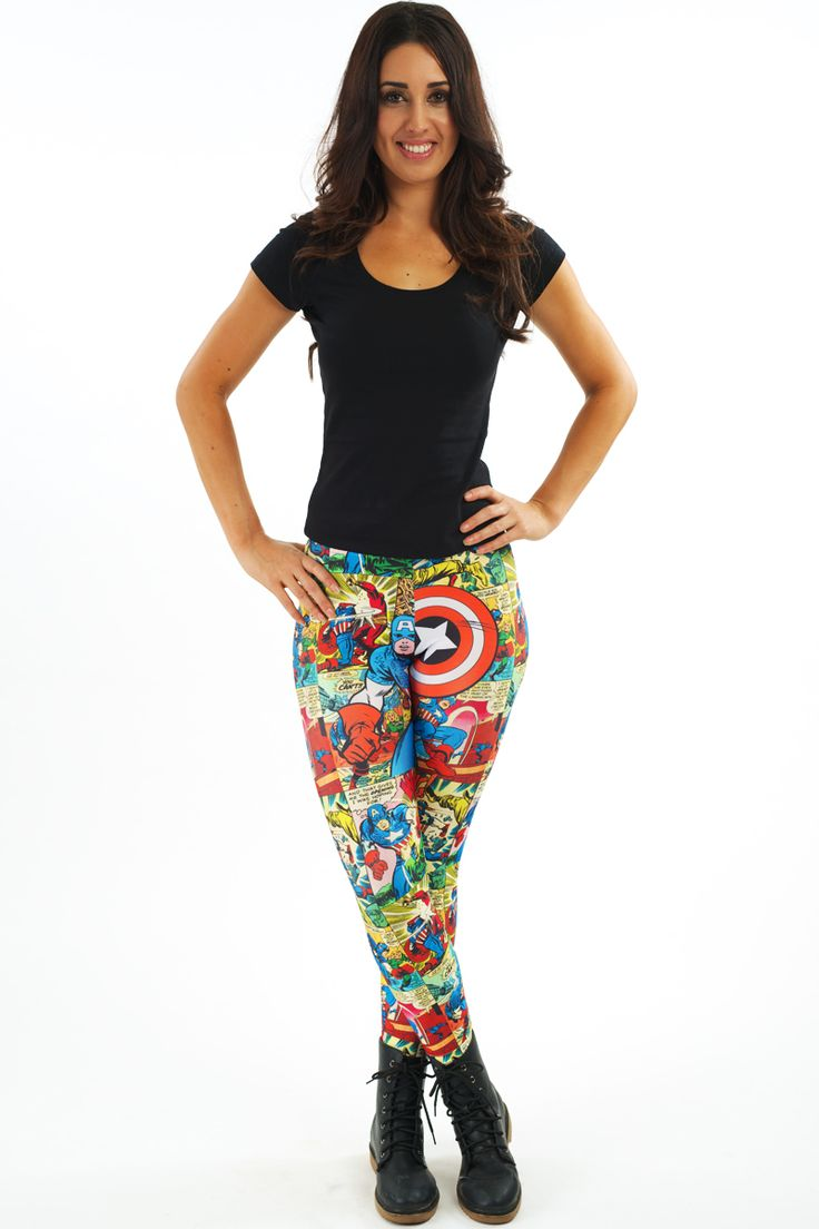 Quintessentially Captain America Leggings $70 AUD