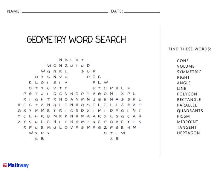 """Über 1.000 Ideen Zu """"Geometry Words Auf Pinterest"""