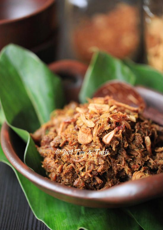 Resep Empal Suwir Daging Sapi | Just Try & Taste