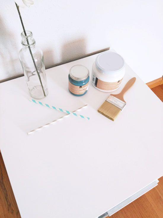 Las 25 mejores ideas sobre mesitas de noche pintadas en - Diy mesita de noche ...