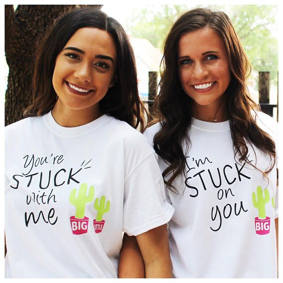 Big Little Reveal T-shirt Stuck on you T-shirts Sorority