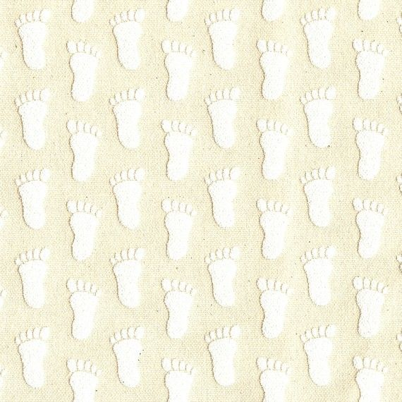 WHITE Slipper Grippers NonSlip AntiSkid Fabric by Lilbabythangs