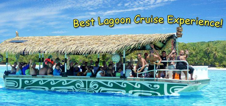 Rarotonga cruises with Koka Lagoon Cruises - glass bottom boat, Muri beach, Cook islands