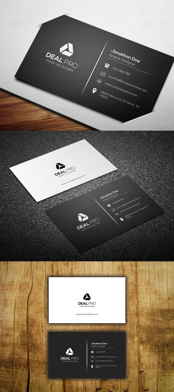 Simple Business Card Template Simple Business Cards Visiting Card Design Business Card Design Simple