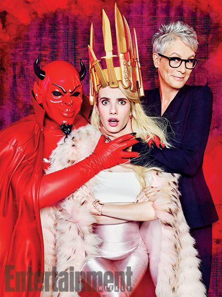 'Scream Queens' inside look: 14 EW exclusive photos | From one Scream Queen to the next | EW.com