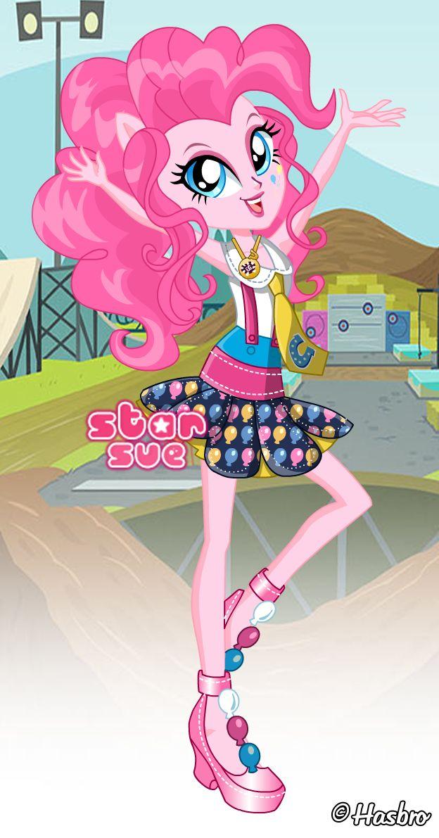 MLPEG Friendship Games Pinkie Pie School Spirit Style ...