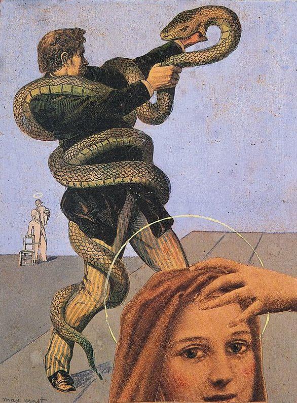 """magictransistor: """"Max Ernst. Untitled. 1929. """""""