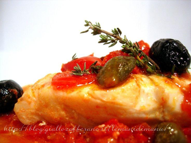 Cernia in guazzetto | Ricette secondi di pesce | Le Mani Di Manu