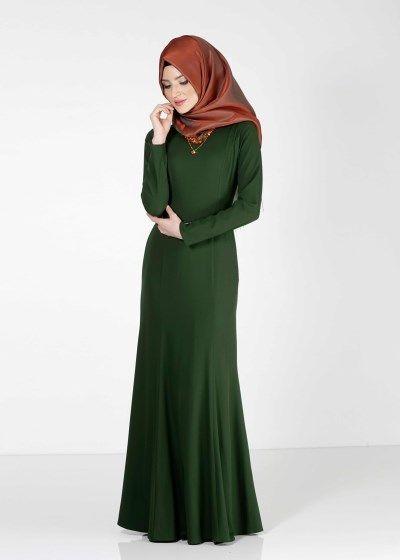 4038 Rida Tesettür Elbise