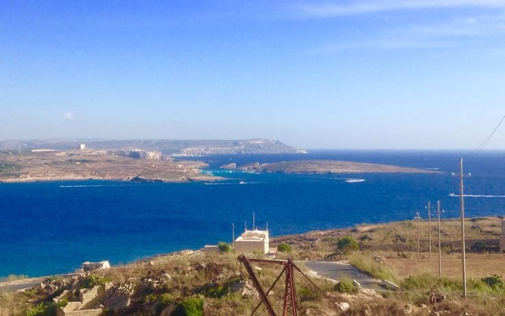 a view of Comino and Malta