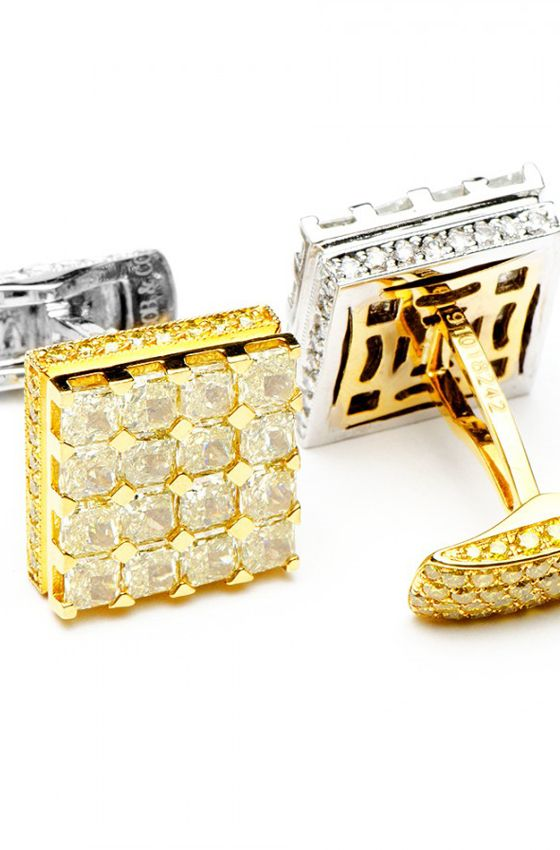 Most Expensive Cufflinks in the World | http://www.ealuxe.com/most-expensive-cufflinks-world/