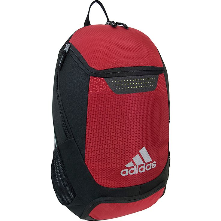 Image of adidas Stadium Team Backpack University Red - adidas School & Day Hiking Backpacks