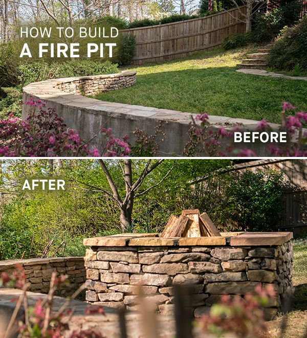 A fire pit makes a wonderful focal point as well as a relaxed atmosphere for backyard gatherings. Building a fire pit can be a fun weekend project that you'll enjoy throughout the year. Download the DIYZ app today for this and other great projects.