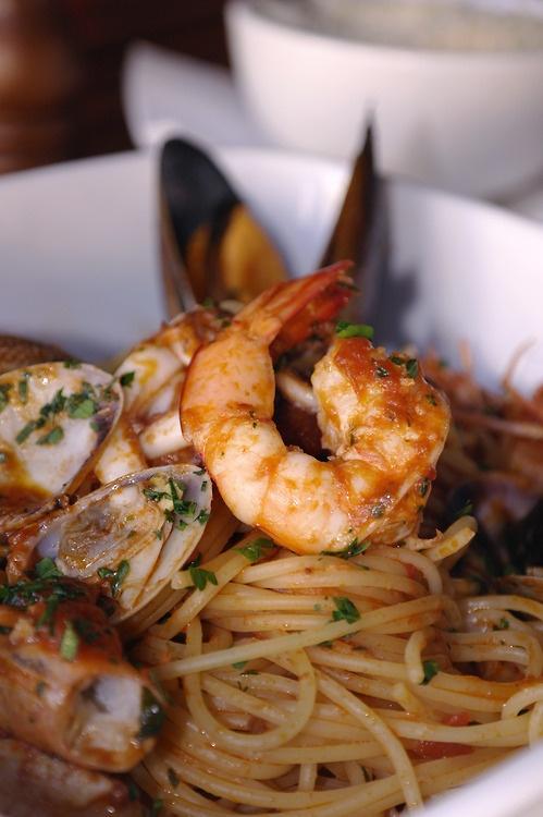 Seafood pasta | Seafood Amore! | Pinterest