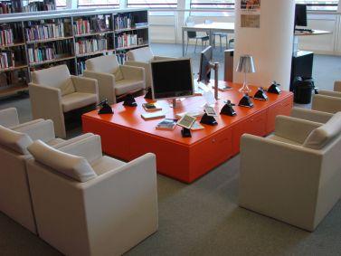 Les Champs-Libres, bibliothèque Rennes