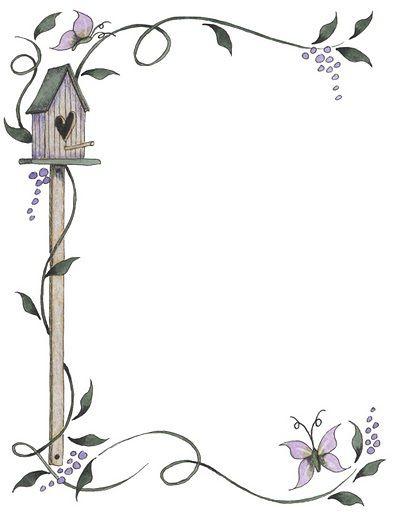 Group of: Bordes para decorar hojas - Imagenes y dibujos para ...