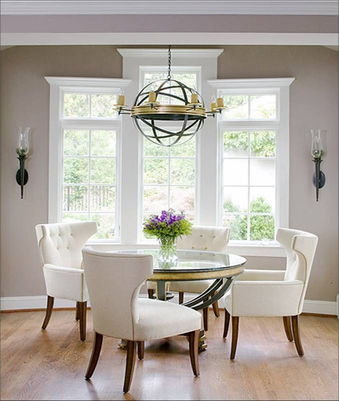Kitchen Design Ideas  Round dining room table decorating ideas. 182 best images about Dining Room Ideas on Pinterest   Fine dining