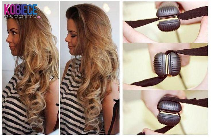 Poprawny sposób zwijania swoich włosów na prostownice...