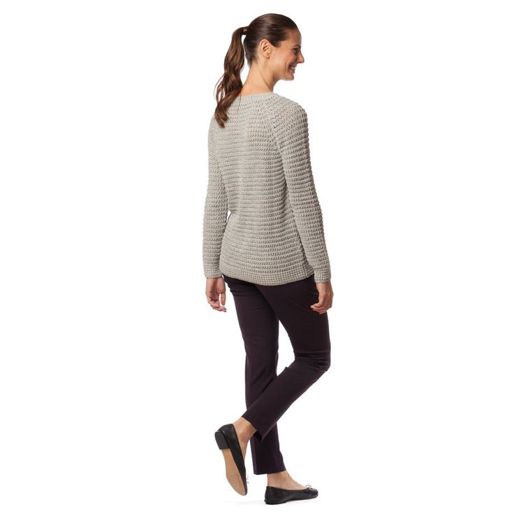 Alpaca Waffle Knit Sweater Mist
