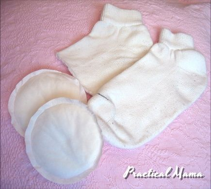 Homemade knee pads for babies