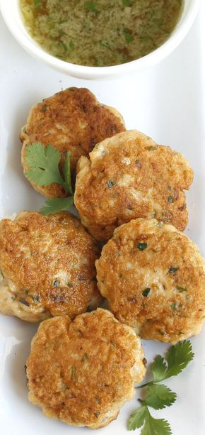 Easy Thai Fishcakes with Chilli-Lime Dipping Sauce