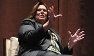 Is CNN's Candy Crowley overstepping her role as debate moderator? Well, Well, Well ..Candy gets her way..hrs. before  the townhall debate.. they change the debate forum to please Candy so she can ask follow up questions now...HELLO CANDY >>IT IS NOT ABOUT YOU>> UNREAL>>CNN SUCKS!!!