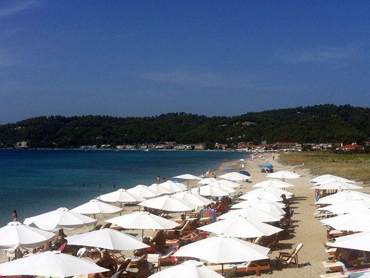 Fourka beach, #Halkidiki #Greece http://gohalkidiki.com/