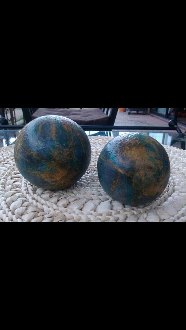 Esferas patina de oxido
