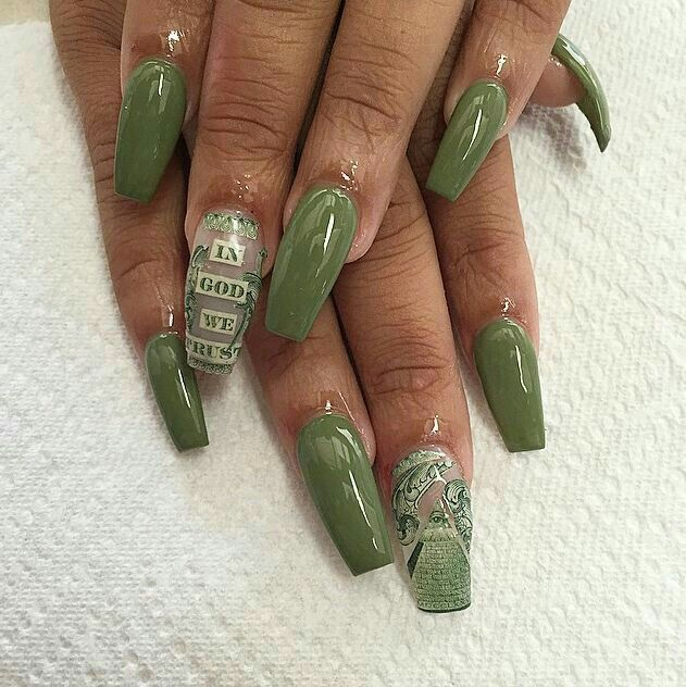 167 best nails on fleek images on pinterest nail arts green and money nails prinsesfo Images