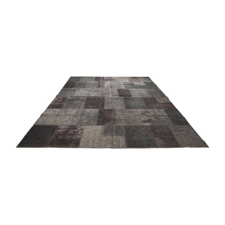 Patchwork Taupe Carpet by EBRU