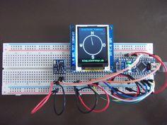 Digitaler Kompass: HMC5883L (GY-271), TFT (HY-1.8) und ein Arduino - blog.simtronyx.de