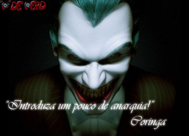 Veja as algumas das melhores frases de um dos melhores vilões do cinema e dos quadrinhos, o Coringa.   Não é só por que ele é um vilão psico...