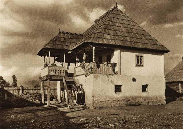 Curtisoara,-case-taranesti - case traditionale romanesti