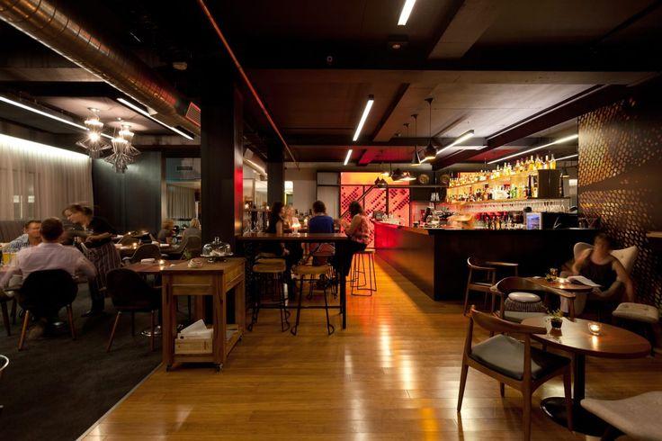 Designfolk - 353 Bar & Restaurant, Perth.   Project undertaken while working with Habitat 1.