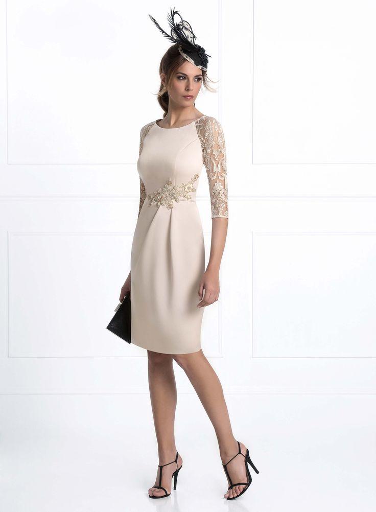 Vestido de Madrina de Madison Diseño (1712A), medio