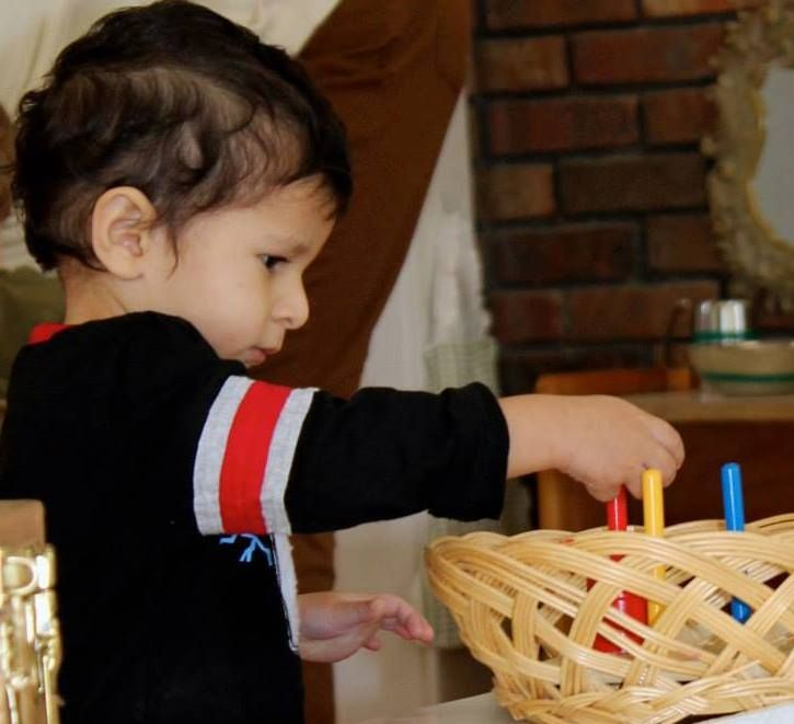 Montessori education helps encourage self-management and independence in children.