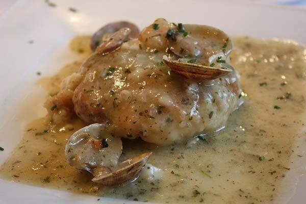 Foto de la receta de merluza en salsa de oricios