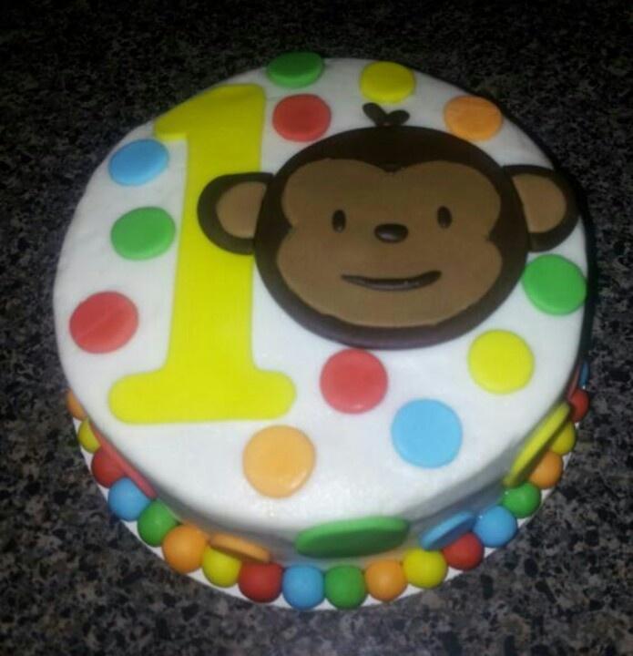 Mod Monkey smash cake