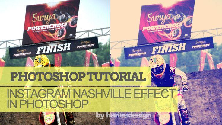 Membuat Instagram Nashville Effect dengan Photoshop
