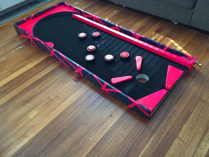 Pinball machine mini golf hole from Bongo Bounce