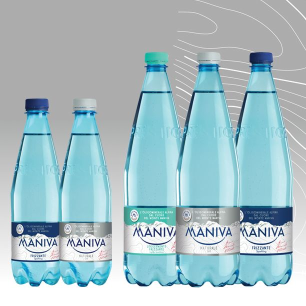 LINEA PET PRESTIGE     Con la sua esclusiva bottiglia la linea PET Prestige di Maniva si presenta con un'immagine rinnovata. Una linea elegante pensata per i nostri momenti di consumo fuori casa.