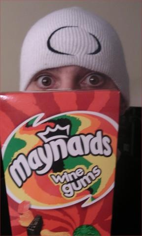"Maynard James Keenan - ""Maynard's Wine Gums"" Sounds yummy & workplace friendly! LOL"