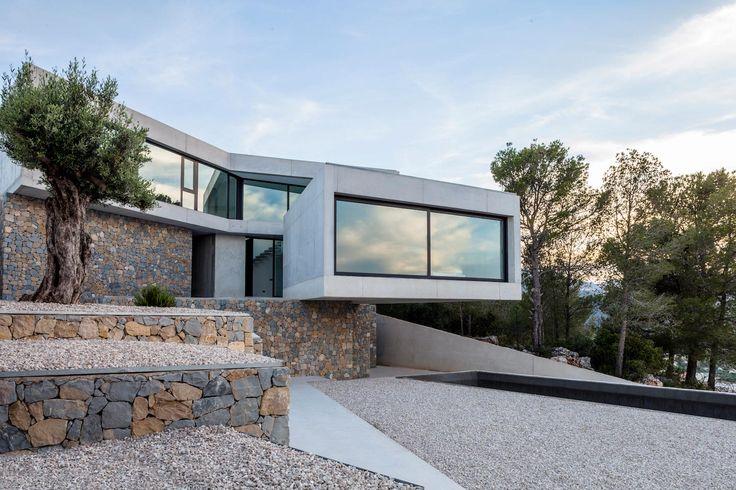 Ultramodern Casa a laspre by nomarq | estudi darquitectura - CAANdesign | Architecture and home design blog